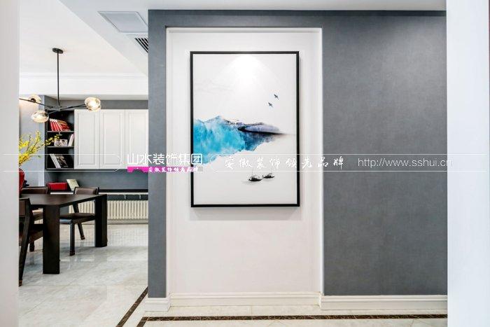 栢悦公馆120平现代风格装修案例