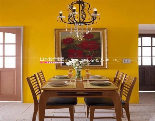 餐厅的颜色风水