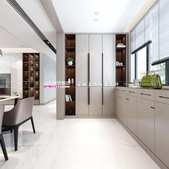 合肥130平方现代风格装修案例