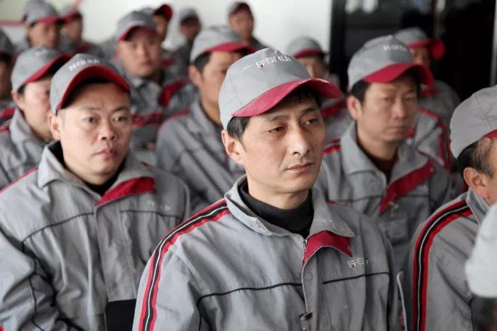 """1552098 山水装饰集团产业工人""""三标工程""""培训会圆满结束"""