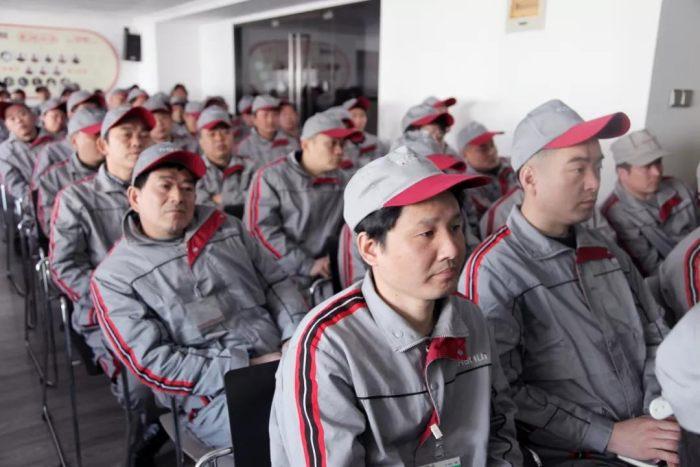 """山水装饰集团产业工人""""三标工程""""培训会圆满结束"""