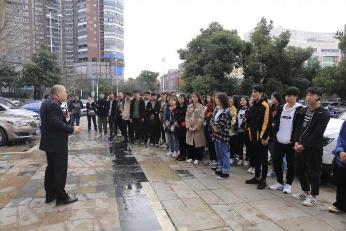 蚌埠市建筑装饰协会与江苏开放大学师生走进山水
