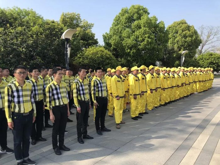 山水装饰集团第十三届劳动工人表彰大会