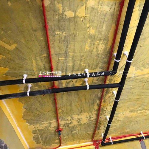 六安山水水电工艺示意图