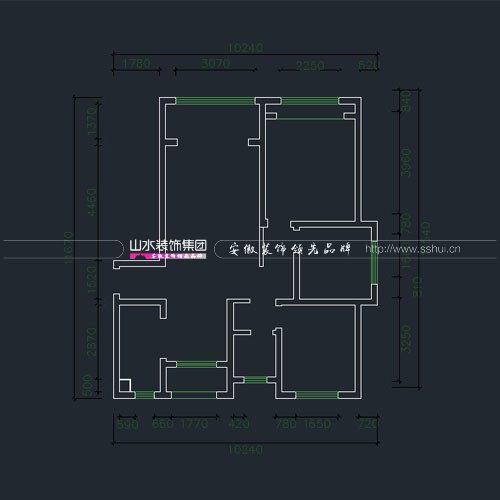 六安城市之光三室两厅户型解析