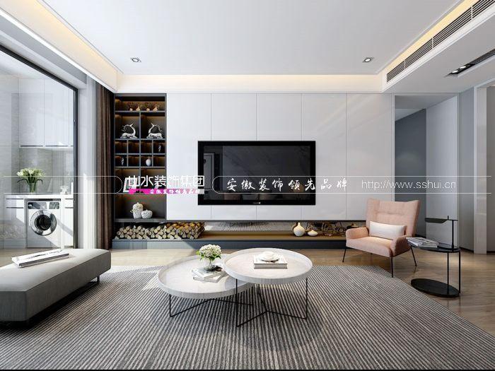 安徽160平方现代风格装修案例鉴赏