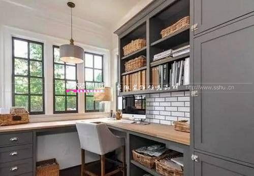 合肥裝修開放式書房