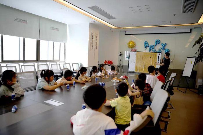 山水裝飾兒童節活動