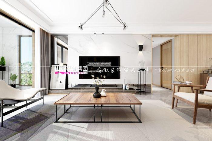 合肥现代三室二厅装修案例鉴赏