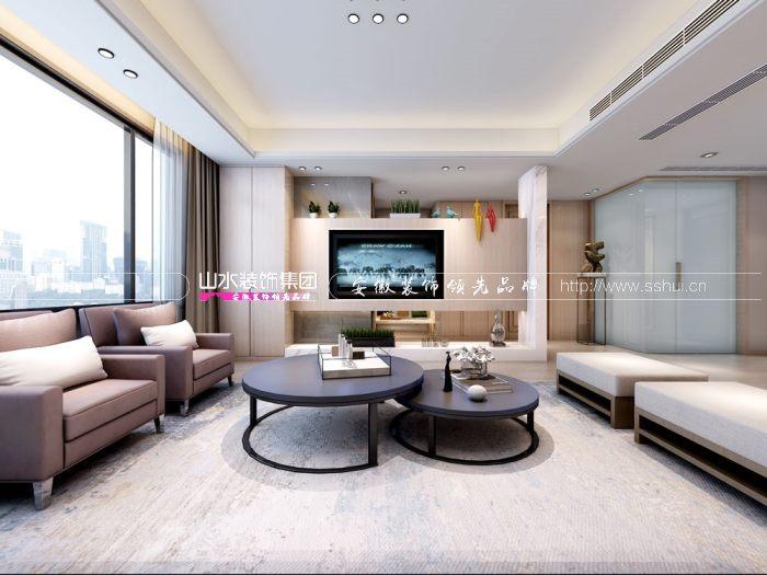 合肥现代风格三室二厅装修鉴赏