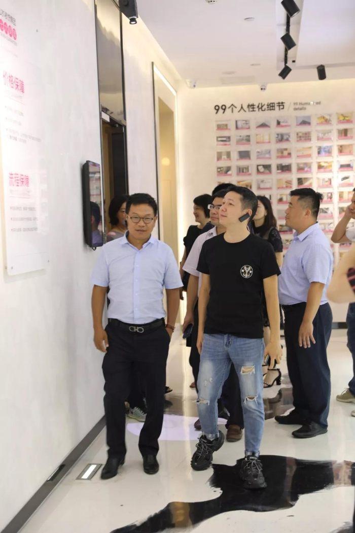 上海交通大学安泰经管学院一行走进山水