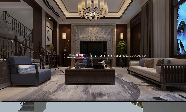 300平方中式别墅装修效果图