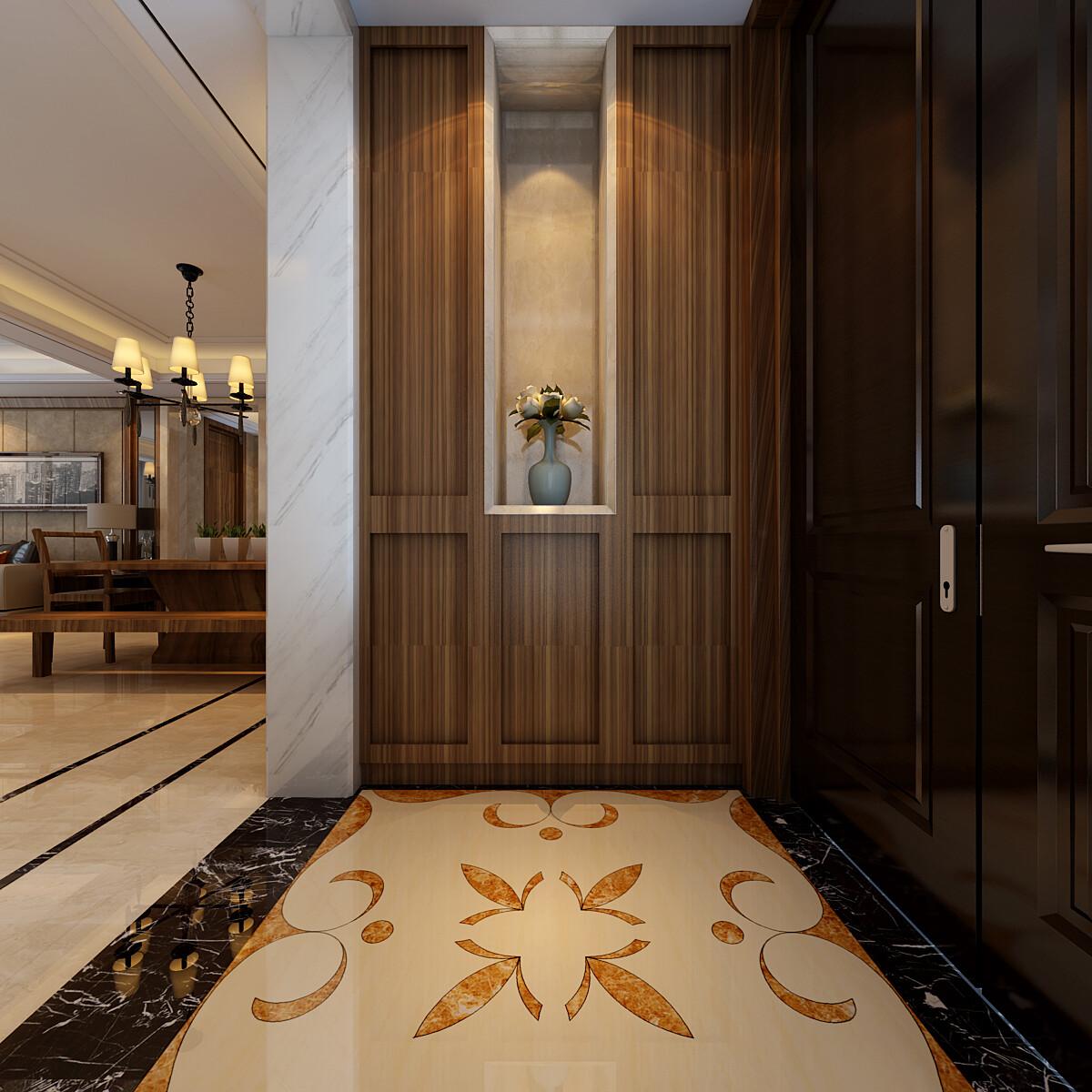180平米现代风格四居室装修效果图