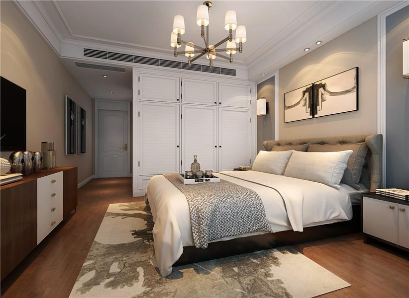 保利西山林语138平三室两厅简约风效果图