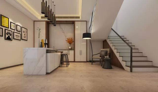 别墅装修北欧风格效果图