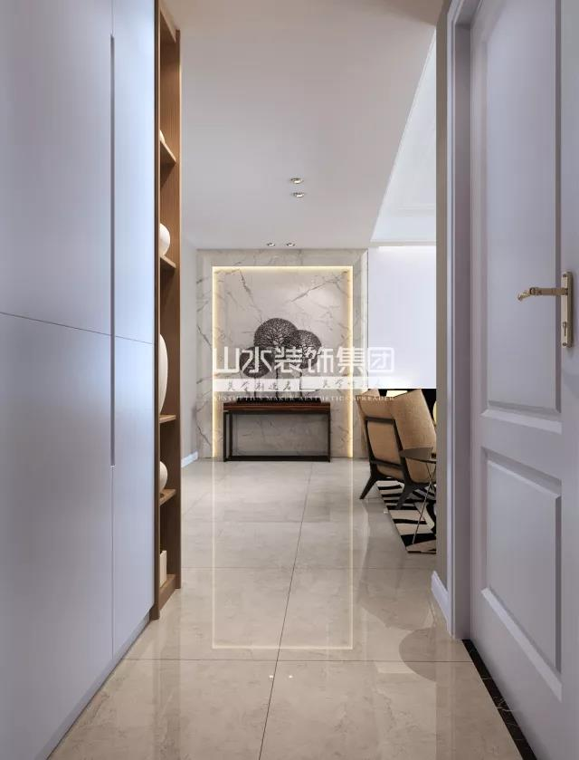三室两厅现代装修效果图