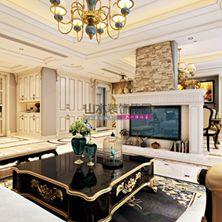 客厅<span style='color: #ff0000'>电视背景墙</span>装饰 重色彩看位置……