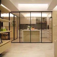 半<span style='color: #ff0000'>开放式厨房</span>隔断怎么设计?注意事项有哪些?