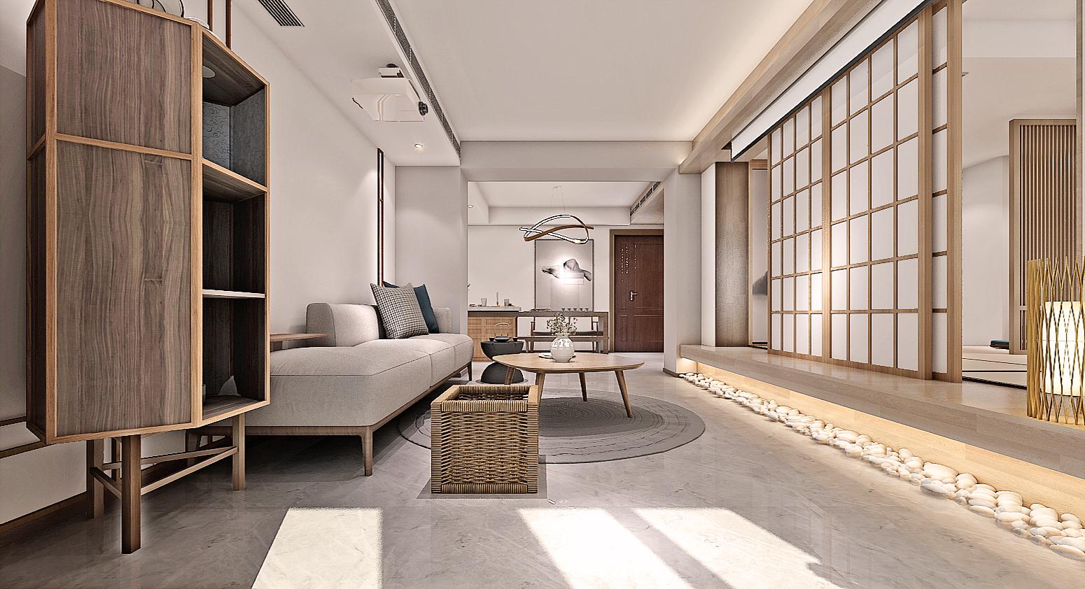 绿城玉兰公寓|日式装修风格