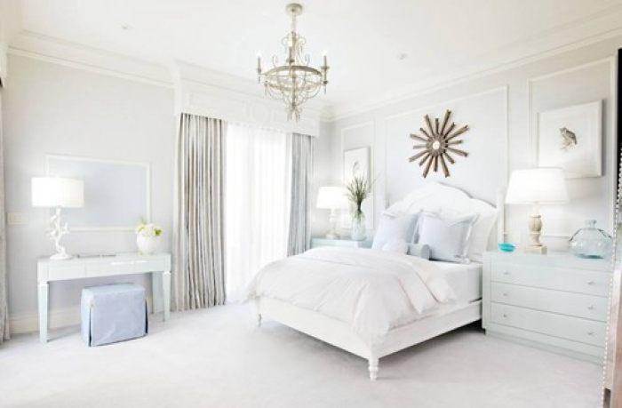 卧室墙面刷什么颜色漆好看