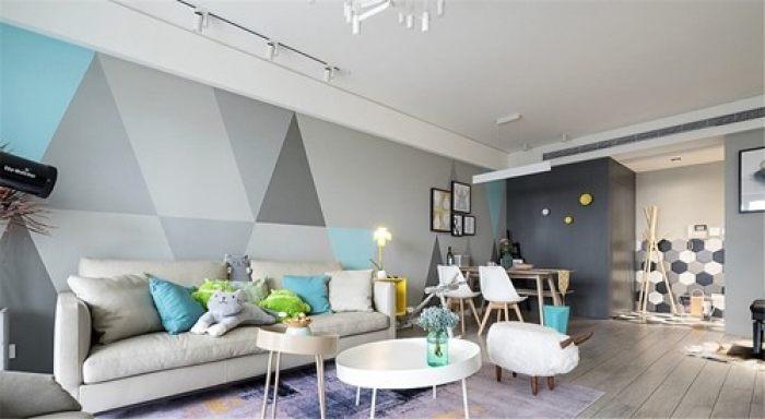 北欧风装修墙面颜色搭配技巧