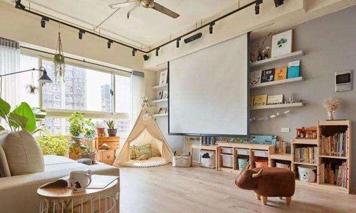 客厅不装电视的设计技巧