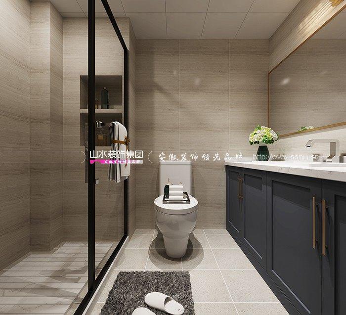 山水空间装饰.浴室柜.浴室收纳