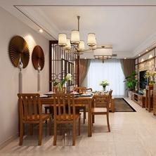 中式装修别墅格调如何营造?山水装饰分享中式别墅经典搭配元素