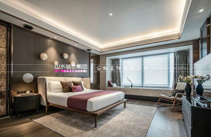 中式轻奢卧室