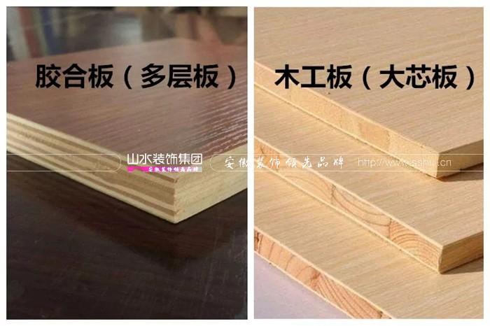 家庭住宅裝修常見的板材