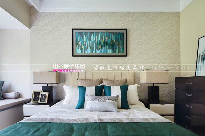 现代新中式卧室