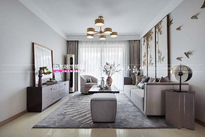 现代新中式客厅
