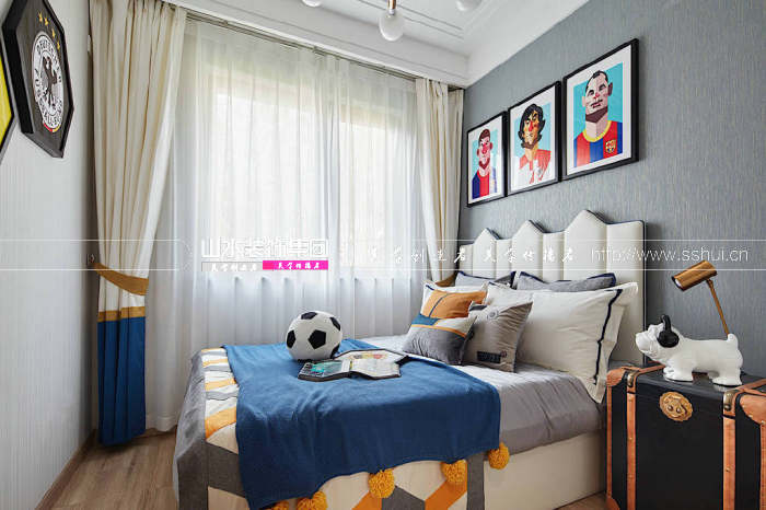 现代新中式儿童房