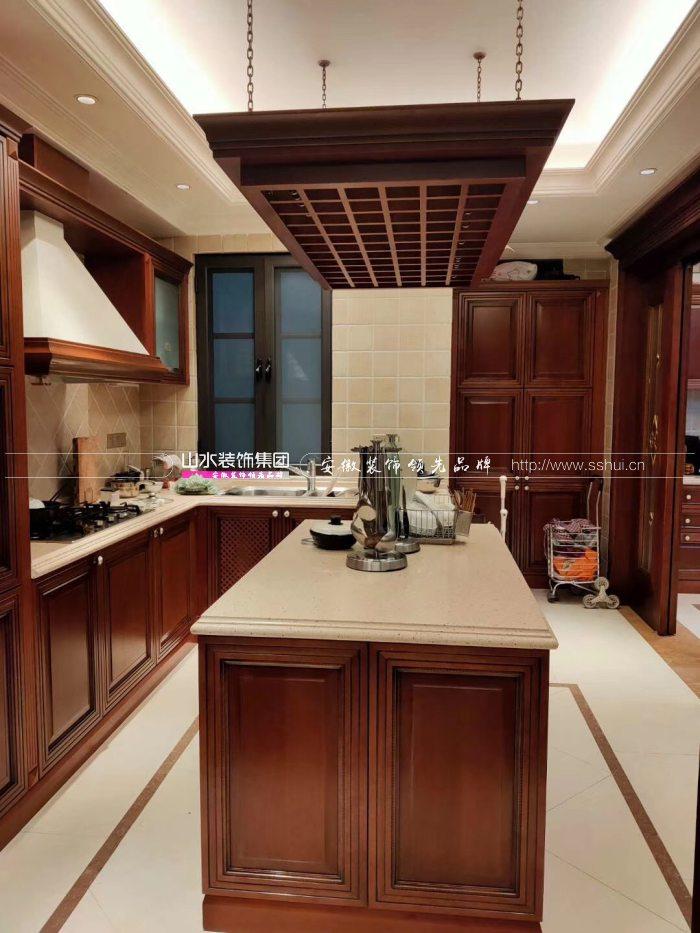 美式风格厨房效果