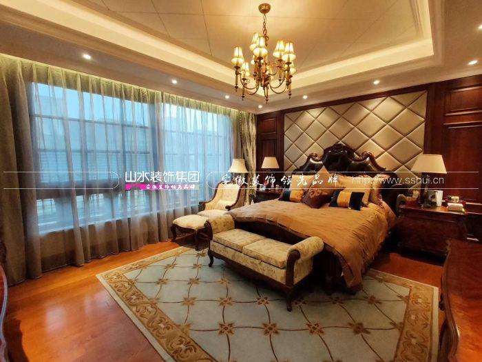 美式风格卧室效果