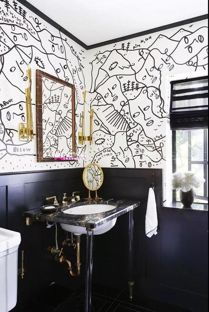 浴室设计.山水空间装饰.设计创意.