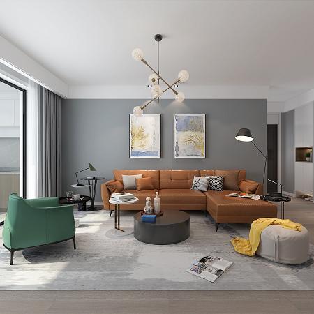 135平北欧装修风格别墅大宅 舒适度和高级感共存