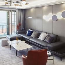 合肥装修高级感十足的硬包背景墙,你家装了吗?