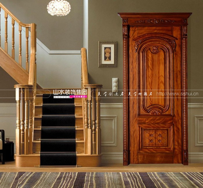 住宅装修室内门如何选