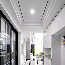 <span style='color: #ff0000'>合肥新房装修</span>过道顶部这样设计,简洁大方有格调!