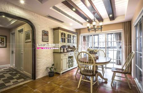 合肥158平美式風格裝修   三室兩廳里的無限生活