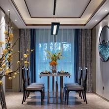 新中式装修风格怎么样?山水分享人文禅意舒适生活空间