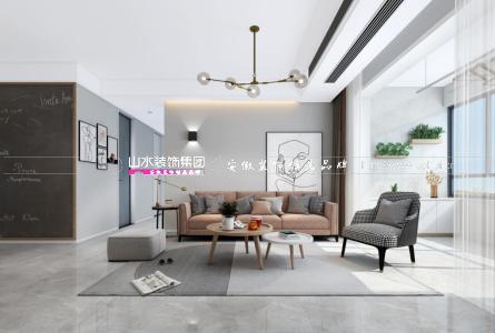 合肥藍光雍錦半島105平北歐風格裝修   好設計,懂生活