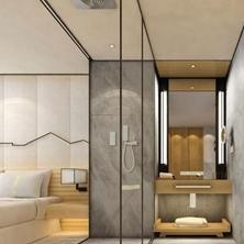 家里有两个<span style='color: #ff0000'>卫生间怎么装修</span>?做好设计方案细节很重要