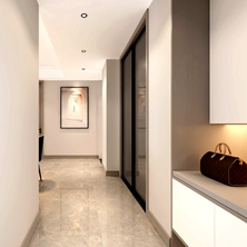 夏末秋初,分享几款2020年流行的室内装修玄关设计!