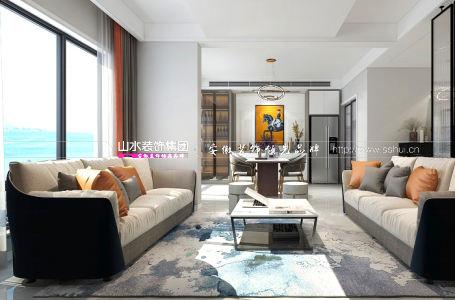 合肥文一豪門金地158平米現代簡約風格新房裝修   歲月恬靜