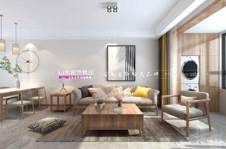 合肥平湖秋月120平米日式风格新房装修   好规划,带来好生活