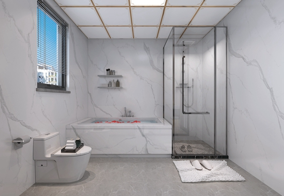 新房卫生间太小如何装修?重叠功能空间、选好色彩搭配