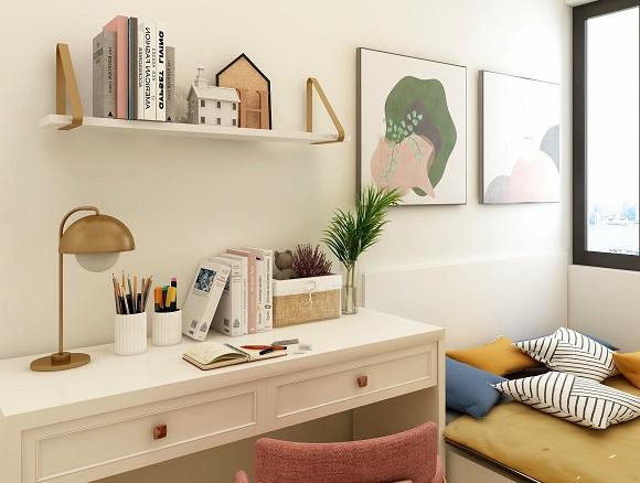 书房怎样装修简单又实用?过来人装修的五点小建议
