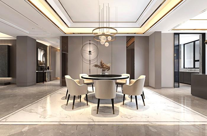 凱旋門390平米現代新房裝修 | 人與空間對話 喚醒品質生活